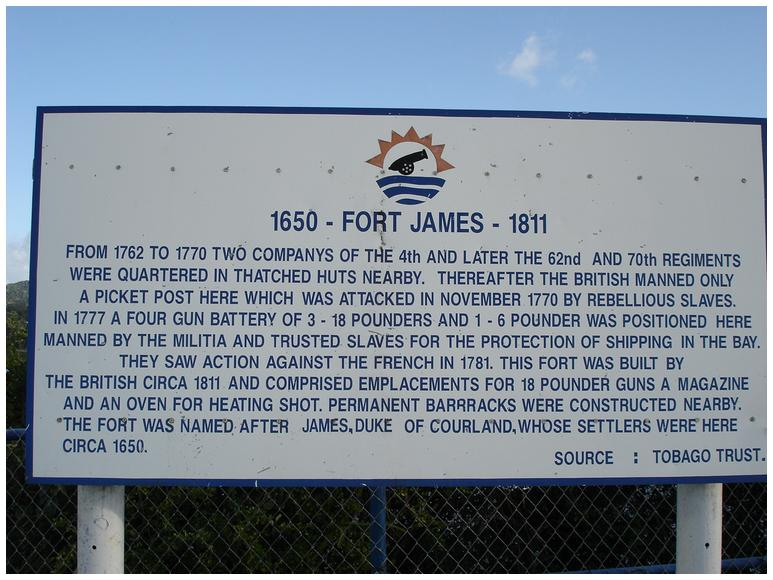 fort james tobago